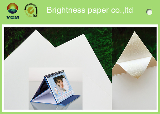 100% Papier Virgin Wood Pulp Glossy Printing Paper White Art Eco Friendly